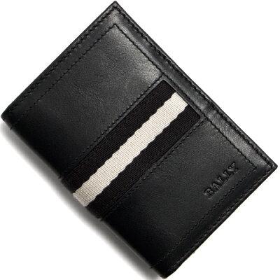 バリー BALLY カードケース TIANSON ブラック TIANSON 290 メンズ