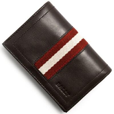 バリー BALLY カードケース【名刺入れ】 TOBEL チョコレートブラウン TOBEL 271 メンズ