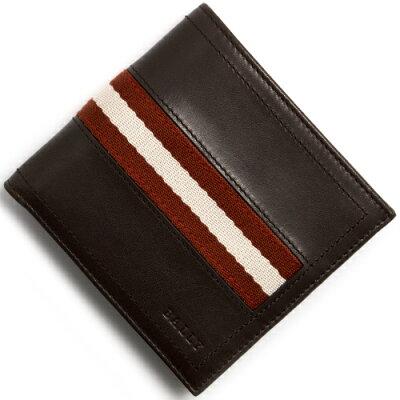 バリー BALLY 二つ折り財布 TYE チョコレートブラウン TYE 271 メンズ