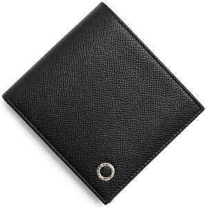 ブルガリ BVLGARI 二つ折財布 ブルガリブルガリ マン 【BB MAN】 ブラック 30396 メンズ