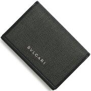 ブルガリ BVLGARI カードケース【名刺入れ】 ウィークエンド 【WEEKEND】 ブラック 32588 メンズ