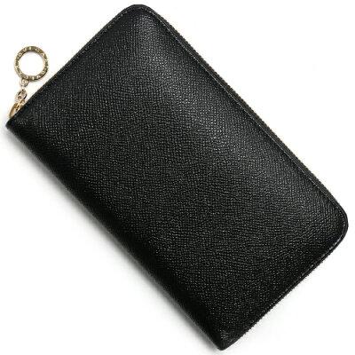 ブルガリ 長財布 財布 メンズ レディース ブルガリブルガリ 【BB】 ブラック 39409 BVLGARI