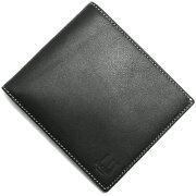 ダンヒル dunhill 二つ折財布【札入れ】 アボリティーズ 【AVORITIES】 ブラック L2G230 A メンズ