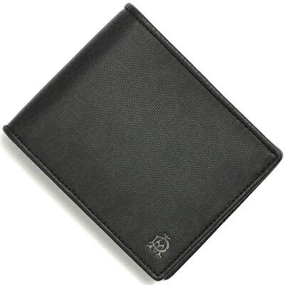 ダンヒル DUNHILL 二つ折り財布 ウィンザー 【WINDSOR】 ブラック L2PA32 A メンズ