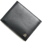 ダンヒル dunhill 二つ折財布 ベルグレイブ 【BELGRAVE】 ブラック L2S832 A メンズ