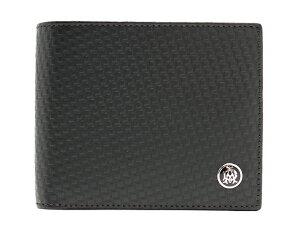 ダンヒル dunhill 二つ折財布 マイクロ ディーエイト 【D-EIGHT】 ブラック L2V332A メンズ