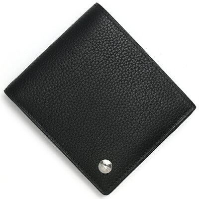 ダンヒル DUNHILL 二つ折り財布 ボストン 【BOSTON】 ブラック L2W332 A メンズ