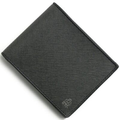 ダンヒル DUNHILL 二つ折り財布 ウィンザー 【WINDSOR】 アッシュグレー L2W732 Z メンズ