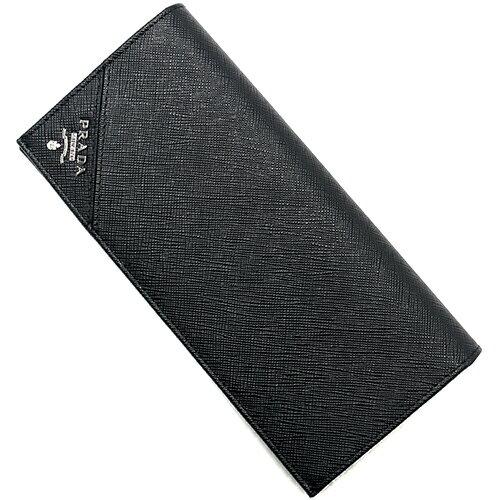プラダ PRADA 長財布 SAFFIANO METAL ブラック 2MV836 QME F0002 メンズ:ブルークウォッチカンパニー