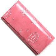 カルティエ Cartier 長財布 ハッピーバースデイ 【HAPPY BIRTHDAY】 ピンク L3001282 レディース