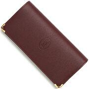 カルティエ Cartier 長財布 マストライン ボルドー L3001362 メンズ レディース