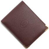カルティエ Cartier 二つ折財布 マスト ドゥ カルティエ 【MUST DE CARTIER】 バーガンディ L3001368 メンズ レディース