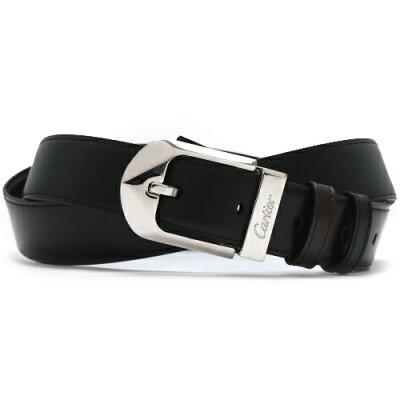 カルティエ Cartier ベルト パッサン ループ 【PASSANT】 リバーシブル ブラック&ダークブラウン L5000184 メンズ