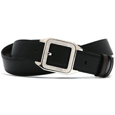 カルティエ Cartier ベルト サントス 【SANTOS 100】 ブラック&ダークブラウン L5000419 メンズ