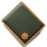 ハンティングワールド HUNTING WORLD BATTUE ORIGIN 二つ折財布 グリーン 310-10A