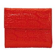 フォリフォリ FOLLIFOLLIE 三つ折財布 レッド WA0L027SR RED 【レディース】
