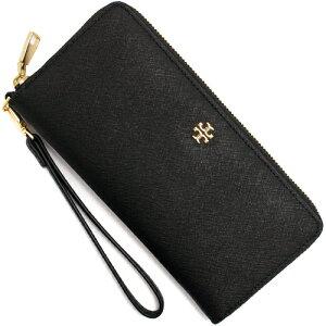トリーバーチ TORY BURCH 長財布 ヨーク ジップ パスポート コンチネンタル ブラック 22149079 001 レディース