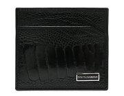 ドルチェ&ガッバーナ DOLCE&GABBANA カードケース【名刺入れ】 ブラック BP0450 A8E65 8B956 メンズ