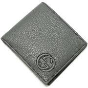 グッチ GUCCI 二つ折財布 ソーホー 【SOHO】 グレー 365485 A7M0N 1217 メンズ