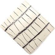 本革 Leather 長財布 クロコダイル 【CROCODILE】 ヴァニラベージュ OKUC0739 VBE メンズ レディース