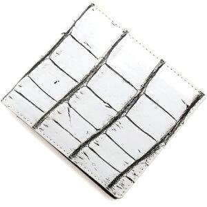 本革 Leather 長財布 クロコダイル 【CROCODILE】 ヴァニラホワイト OKUC0739 VWH メンズ レディース