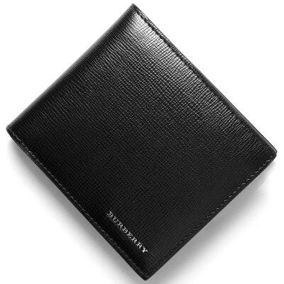 バーバリー BURBERRY 二つ折り財布 ロンドン 【LONDON】 ブラック 3997618 00100 メンズ