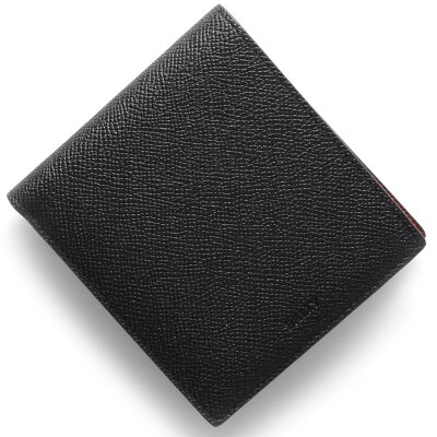 バリー BALLY 二つ折財布 ビビィ BYIE ブラック&レッド BYIEB 216 メンズ