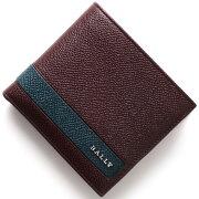 バリー BALLY 二つ折財布 LYITEL メルローワインレッド LYITEL 46 メンズ