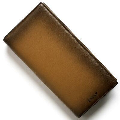バリー 長財布 財布 メンズ スタード ドック グラデーション カウボーイブラウン STRADDOK S 01 6221861 BALLY