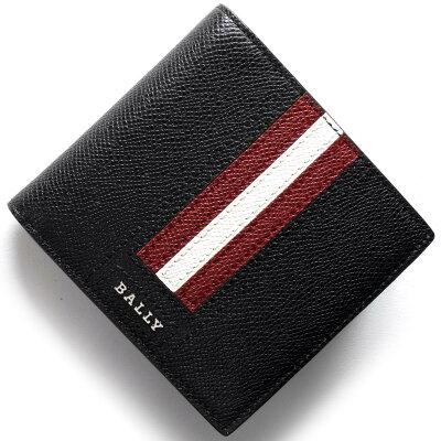 バリー BALLY 二つ折り財布 テイゼル TEISEL ブラック TEISELLT 210 メンズ
