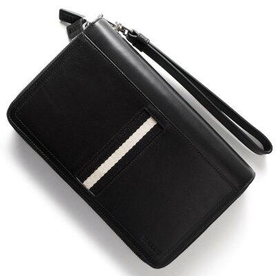 バリー BALLY 長財布/マルチケース TINGER ブラック TINGER 290 メンズ