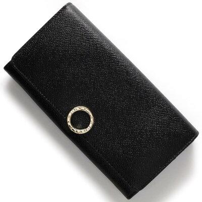 ブルガリ 長財布 財布 メンズ レディース ブルガリブルガリ 【BB】 ブラック 280526 BVLGARI