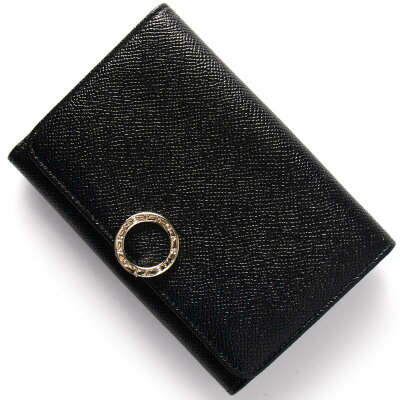 ブルガリ BVLGARI 二つ折り財布 ブルガリブルガリ 【BB】 ブラック 280555 レディース