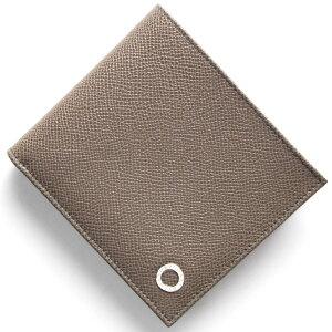 ブルガリ BVLGARI 二つ折財布 ブルガリブルガリ マン BB MAN ストーングレー 30397 メンズ