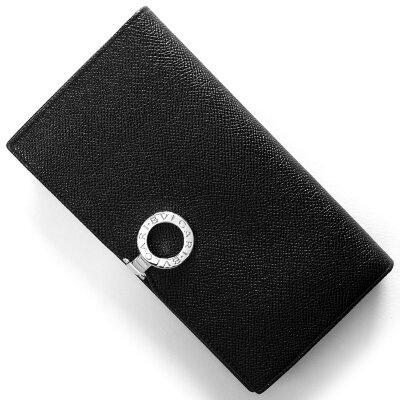 ブルガリ BVLGARI 長財布 ブルガリブルガリ BB ブラック 33745 メンズ レディース