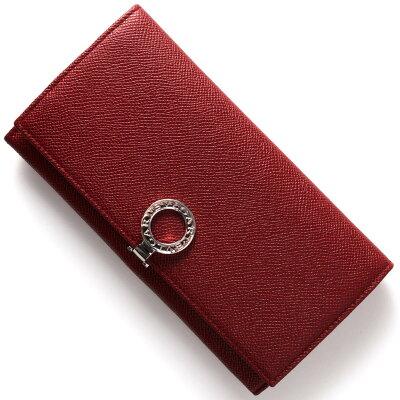 ブルガリ 長財布 財布 レディース ブルガリブルガリ 【BB】 ルビーレッド 33888 BVLGARI