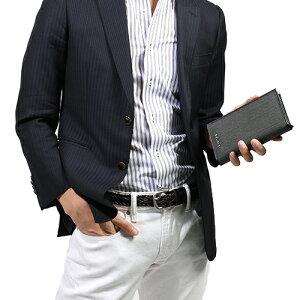 ブルガリ 長財布 財布 メンズ ウィークエンド グレー&ブラック 32582 BVLGARI