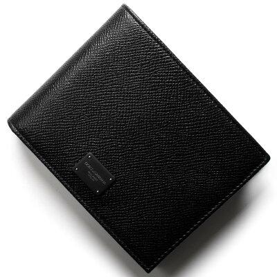 ドルチェ&ガッバーナ 二つ折財布 財布 メンズ ブラック BP0457 AI359 80999 DOLCE&GABBANA