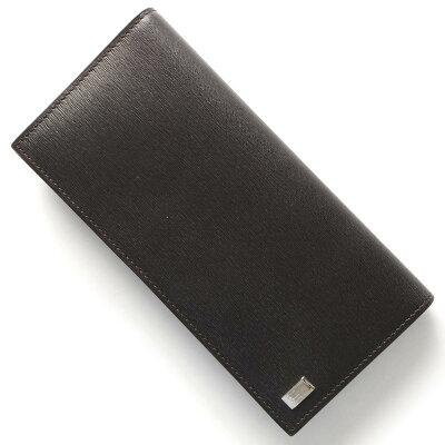 ダンヒル DUNHILL 長財布【札入れ】 サイドカー ダークブラウン FP7000 E メンズ