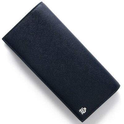 ダンヒル DUNHILL 長財布 カドガン CADOGAN ネイビー&ブルー L2AC10 N メンズ