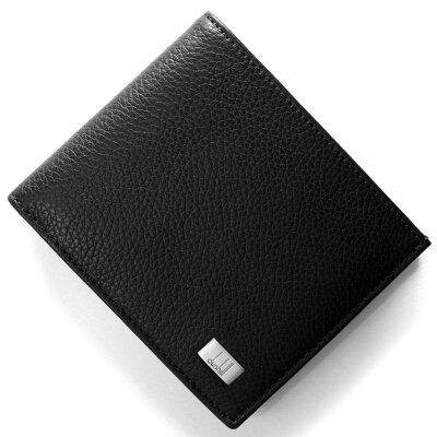 ダンヒル DUNHILL 二つ折財布 アボリティーズ AVORITIES ブラック L2R932 A メンズ