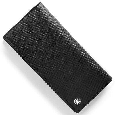 ダンヒル DUNHILL 長財布 マイクロ ディーエイト D-EIGHT ブラック L2V312 A メンズ