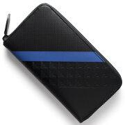 エンポリオアルマーニ EMPORIO ARMANI 長財布 PORTAFOGLIO ブラック&ブルー YEME49 YKS2V 81072 メンズ