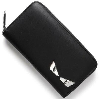 フェンディ FENDI 長財布 モンスター MONSTER ブラック 7M0210 O74 F0GXN メンズ レディース