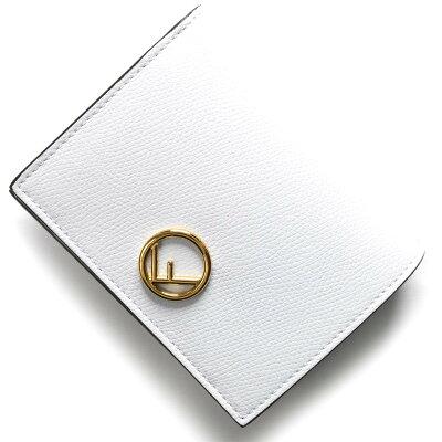 フェンディ 二つ折り財布 財布 レディース エフ イズ フェンディ F IS FENDI ビアンコオッティカホワイト 8M0387 A18B F11CB FENDI