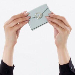 フェンディ 三つ折り財布/ミニ財布 財布 レディース エフ イズ フェンディ パールグレー 8M0395 A0KK F07ML FENDI