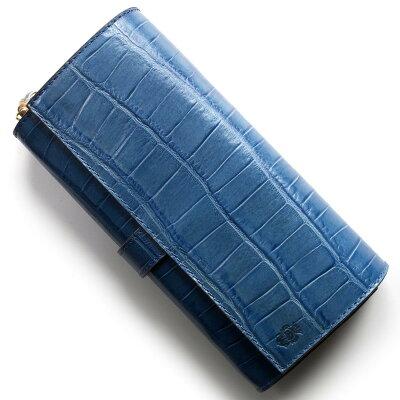 フェリージ 長財布 財布 メンズ レディース クロコ型押し ブリュエットブルー 3005 SA 0021 2018年春夏新作 FELISI