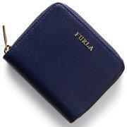 フルラ FURLA 二つ折財布 バビロン 【BABYLON】 ネイビー PN51 B30 NVY レディース