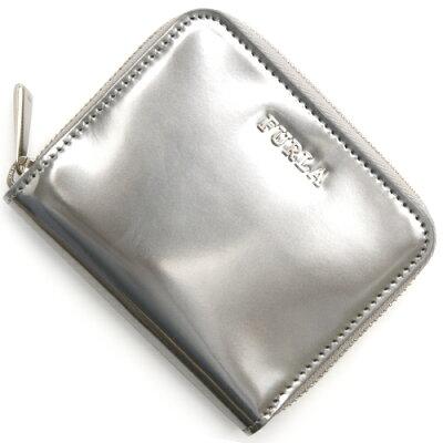 フルラ FURLA 二つ折財布 バビロン 【BABYLON】 シルバー PI38 PTL Y30 レディース