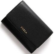 フルラ FURLA 三つ折財布 バビロン 【BABYLON】 ブラック PO72 B30 O60 レディース